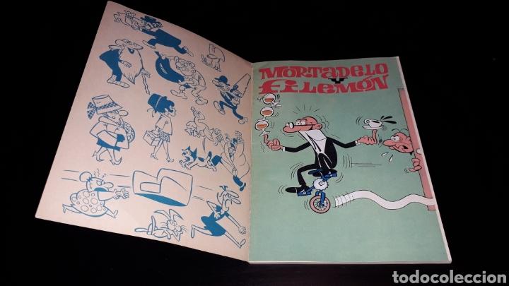 Tebeos: Nº 18 en lomo, Olé Bruguera, Mortadelo y Filemón, Dos agentes...F. Ibañez, 1ª primera edición 1971. - Foto 6 - 159154578
