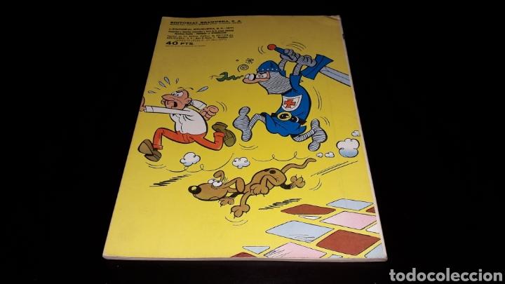 Tebeos: Nº 18 en lomo, Olé Bruguera, Mortadelo y Filemón, Dos agentes...F. Ibañez, 1ª primera edición 1971. - Foto 11 - 159154578