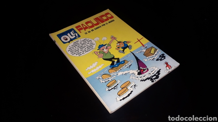 Nº 16 EN LOMO, OLÉ BRUGUERA, FACUNDO, SE DA UN GARBEO POR EL MUNDO, GOSSE, 1ª PRIMERA EDICIÓN 1971. (Tebeos y Comics - Bruguera - Ole)