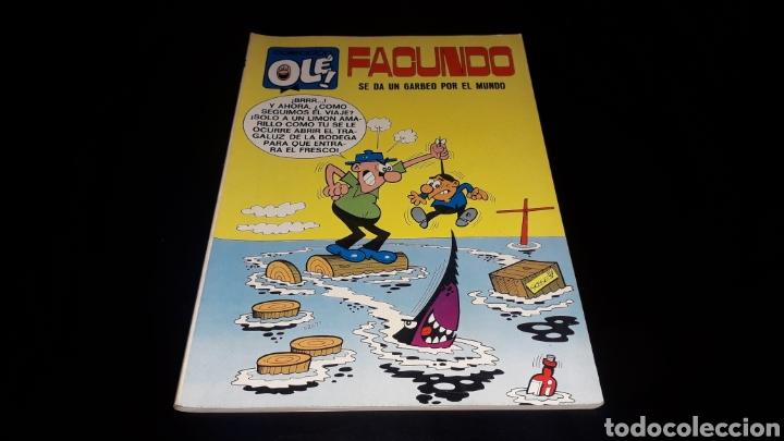 Tebeos: Nº 16 en lomo, Olé Bruguera, Facundo, se da un garbeo por el mundo, Gosse, 1ª primera edición 1971. - Foto 2 - 159205662