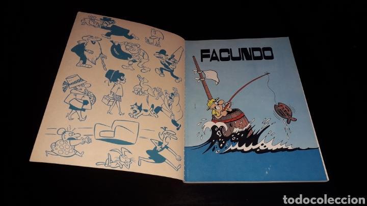Tebeos: Nº 16 en lomo, Olé Bruguera, Facundo, se da un garbeo por el mundo, Gosse, 1ª primera edición 1971. - Foto 6 - 159205662