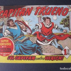 Tebeos: CAPITAN TRUENO, EL (1956, BRUGUERA) 123 · 9-II-1959 · EL CAPITAN CONTRA ULRICH. Lote 159251602