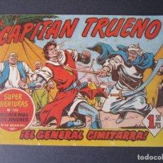 Tebeos: CAPITAN TRUENO, EL (1956, BRUGUERA) 124 · 16-II-1959 · EL GENERAL CIMITARRA. Lote 159252222