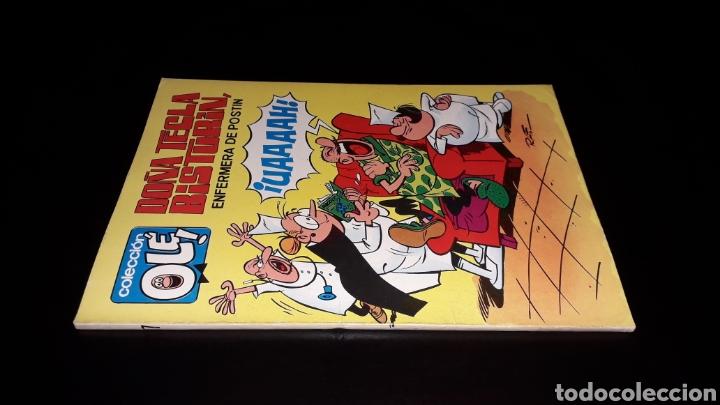 Tebeos: Nº 17 en lomo, Olé Bruguera, Doña Tecla Bisturín, Enfermera de postín, Raf, 1ª primera edición 1971. - Foto 3 - 159291962