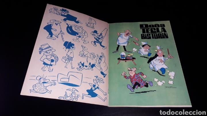 Tebeos: Nº 17 en lomo, Olé Bruguera, Doña Tecla Bisturín, Enfermera de postín, Raf, 1ª primera edición 1971. - Foto 6 - 159291962