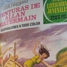 Tebeos: COMPILACIÓN ENCUADERNADA DE 15 EJEMPLARES DE JOYAS LITERARIAS JUVENILES. Lote 159394026