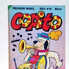 Tebeos: COPITO. PUBLICACIÓN INFANTIL AÑO II Nº 60. (VVAA) BRUGUERA, 1981. OFRT. Lote 191336607