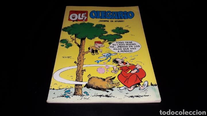 Tebeos: Nº 29 en lomo, Olé Bruguera, Olegario ¡Siempre en apuros!, Raf, 1ª primera edición 1971. - Foto 2 - 159472202