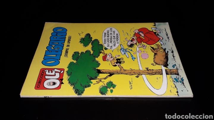 Tebeos: Nº 29 en lomo, Olé Bruguera, Olegario ¡Siempre en apuros!, Raf, 1ª primera edición 1971. - Foto 3 - 159472202