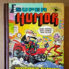Tebeos: SUPER HUMOR XXI: MORTADELO Y FILEMÓN ¡A TODO GAS! (BRUGUERA, 1982). POR FRANCISCO IBÁÑEZ. Lote 159536344