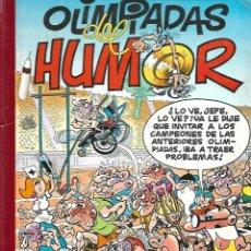 Tebeos: SUPER HUMOR MORTADELO, OLIMPIADAS DEL HUMOR, Nº 2, AÑO 1993 DE FRANCISCO IBAÑEZ. EDICIONES B,. Lote 159557670
