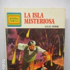 Tebeos: HISTORIAS FAMOSAS 13 LA ISLA MISTERIOSA, JULIO VERNE. ANTONIO BERNAL VICENTE TORREGROSA BRUGUERA . Lote 159585826