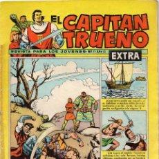 Tebeos: EL CAPITÁN TRUENO EXTRA, Nº 71. ORIGINAL. LA ISLA MISTERIOSA. Lote 159605202
