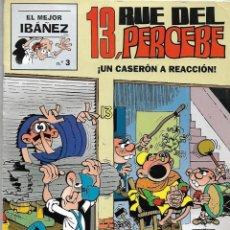 Tebeos: 13, RUE DEL PERCEBE, UN CASERÓN A REACCIÓN, EL MEJOR IBAÑEZ, Nº 3. AÑO 1999. DE FRANCISCO IBAÑEZ.. Lote 159633366