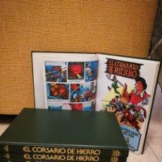 Tebeos: COLECCION COMPLETA EL CORSARIO DE HIERRO. 7 TOMOS EDICION DE LUJO. Lote 213024196