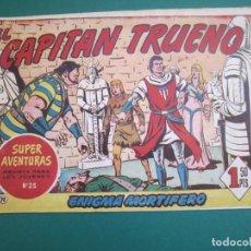 Tebeos: CAPITAN TRUENO, EL (1956, BRUGUERA) 72 · 17-II-1958 · ENIGMA MORTIFERO. Lote 183506723