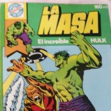 Tebeos: COMIC NÚM 4 LA MASA.- EL INCREIBLE HULK. Lote 159712213