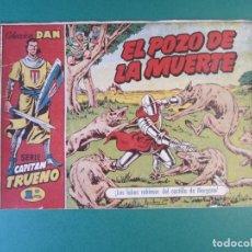 Tebeos: CAPITAN TRUENO, EL (1956, BRUGUERA) 11 · 26-X-1956 · EL POZO DE LA MUERTE. Lote 159723878