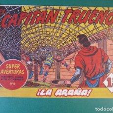 Tebeos: CAPITAN TRUENO, EL (1956, BRUGUERA) 58 · 11-XI-1957 · LA ARAÑA. Lote 159756082