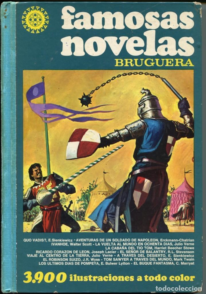 FAMOSAS NOVELAS BRUGERA TOMO II (2) (Tebeos y Comics - Bruguera - Joyas Literarias)