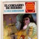 Tebeos: EL CORSARIO DE HIERRO. GRANDES AVENTURAS JUVENILES- Nº 25 1ª ED.. Lote 159874614