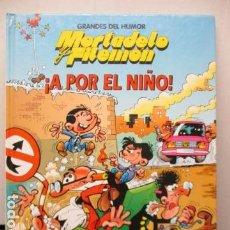 Tebeos: MORTADELO Y FILEMÓN - ¡A POR EL NIÑO! - COLECCIÓN MAGOS DEL HUMOR - EDICIÓN CÍRCULO DE LECTORES. Lote 159899266