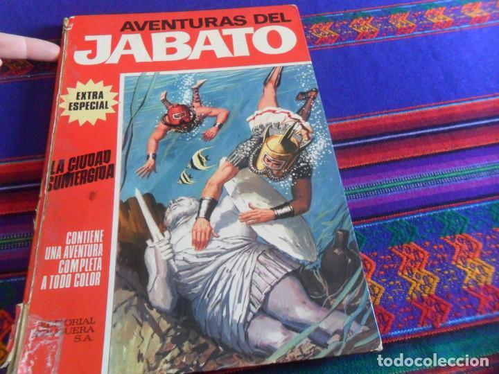 BUEN PRECIO, JABATO COLOR EXTRA ÁLBUM ROJO Nº 6. BRUGUERA 1970. LA CIUDAD SUMERGIDA. (Tebeos y Comics - Bruguera - Jabato)
