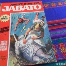 Tebeos: BUEN PRECIO, JABATO COLOR EXTRA ÁLBUM ROJO Nº 6. BRUGUERA 1970. LA CIUDAD SUMERGIDA. . Lote 159956646