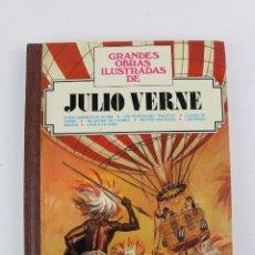 Tebeos: L-606. JULIO VERNE, GRANDES OBRAS ILUSTRADAS. 7 HISTORIAS. GRANDES OBRAS ILUSTRADAS. . Lote 159970002