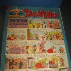 Tebeos: TIO VIVO Nº 222 . EDITORIAL BRUGUERA 1965.. Lote 159979362