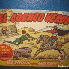 Tebeos: EL COSACO VERDE Nº 3 SUPER AVENTURAS Nº 288. LA ASTUCIA DE UN MALVADO. BRUGUERA.. Lote 159990690