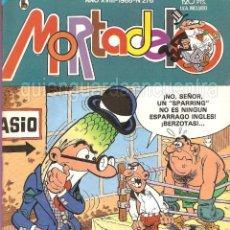 Tebeos: MORTADELO Nº 276 COMIC AÑO XVIII 1986 BRUGUERA NUEVO. Lote 160000158
