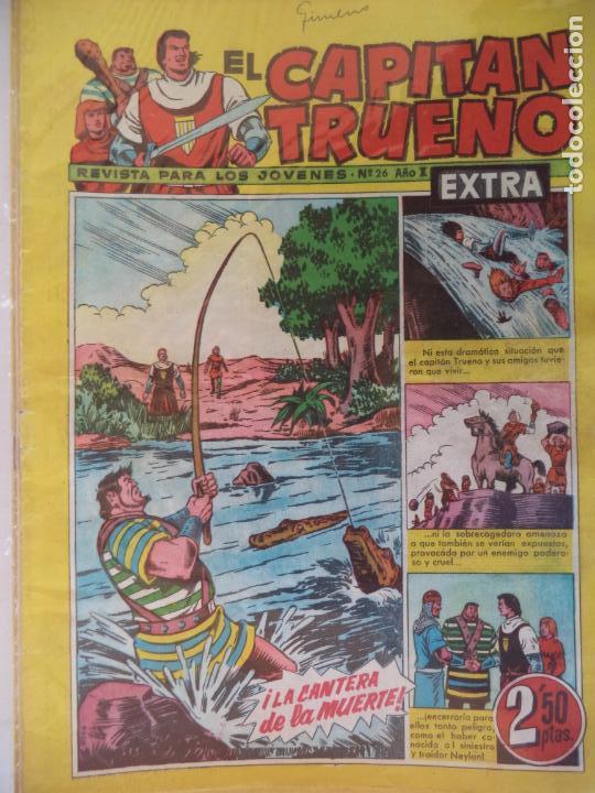 EL CAPITAN TRUENO EXTRA Nº 26 ORIGINAL (Tebeos y Comics - Bruguera - Capitán Trueno)