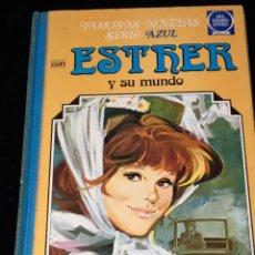 Tebeos: FAMOSAS NOVELAS SERIE AZUL CON ESTHER Y SU MUNDO. 4. 2ª EDICIÓN. 1982.. Lote 160156974