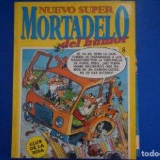 Tebeos: COMIC DE NUEVO SUPER HUMOR MORTADELO DEL HUMOR AÑO 199? Nº 8 DE EDITORIAL BUGUERA LOTE 15. Lote 160194738