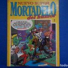 Tebeos: COMIC DE NUEVO SUPER HUMOR MORTADELO DEL HUMOR AÑO 199? Nº 2 DE EDITORIAL BUGUERA LOTE 15. Lote 160194794