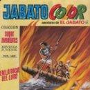 Tebeos: JABATO COLOR Nº 111.SEGUNDA ÈPOCA.EN LA BOCA DEL LOBO.BRUGUERA.1976. Lote 160208322