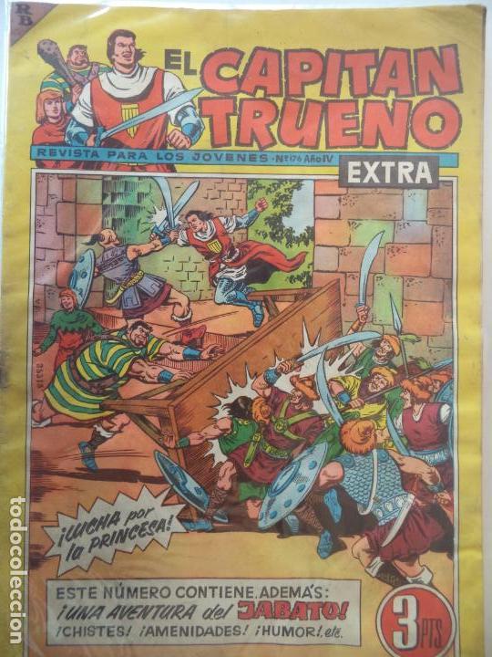 EL CAPITAN TRUENO EXTRA Nº 1176 ORIGINAL (Tebeos y Comics - Bruguera - Capitán Trueno)