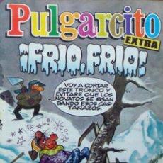 BDs: PULGARCITO 16 EXTRA FRÍO FRÍO COMIC NUEVO BRUGUERA 1985 CON CROMOS. Lote 204517490