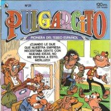 Tebeos: COMIC PULGARCITO Nº 21 BRUGUERA 1986 AÑO ÉPOCA 3ª AÑO II NUEVO. Lote 160249322