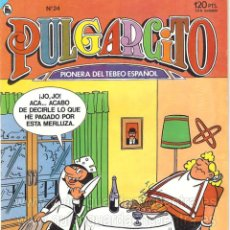 Tebeos: COMIC PULGARCITO Nº 24 BRUGUERA 1986 AÑO ÉPOCA 3ª AÑO II NUEVO. Lote 160249494