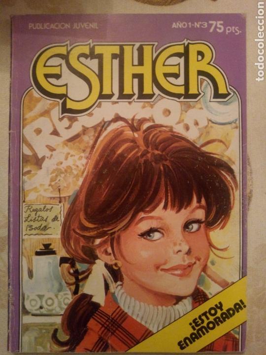 ESTHER. N°3 BRUGUERA 1982 (Tebeos y Comics - Bruguera - Esther)