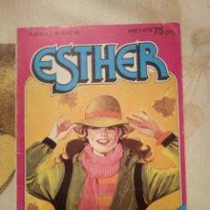 Tebeos: ESTHER N°9 BRUGUERA 1982.. Lote 160304949