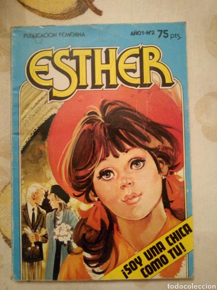 ESTHER N°2 BRUGUERA 1982 (Tebeos y Comics - Bruguera - Esther)