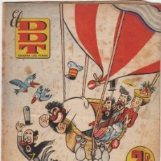 Tebeos: DDT Nº14. PEÑARROYA, VÁZQUEZ, CONTI, CIFRÉ, ESCOBAR. BRUGUERA 1951. Lote 160365318