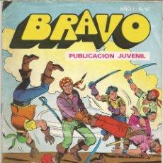 Tebeos: EL CACHORRO DE LA COLECCIÓN BRAVO EDITORIAL BRUGUERA Nº 31. Lote 160439478
