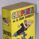 Tebeos: MINI INFANCIA BRUGUERA - CARPANTA EN EL GRAN BANQUETE, N º 178 - 1ª EDICION 1973. Lote 160528722