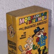 Tebeos: MINI INFANCIA BRUGUERA - MORTADELO Y FILEMON EN BUENOS AMIGOS , Nº 100 - 1ª EDICION 1971. Lote 160528958