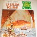 Tebeos: JOYAS LITERARIAS JUVENILES 222. LA GALERA DEL BAJÁ. EMILIO SALGARI 1ª EDICIÓN 1980 (SEMINUEVO). Lote 160536382