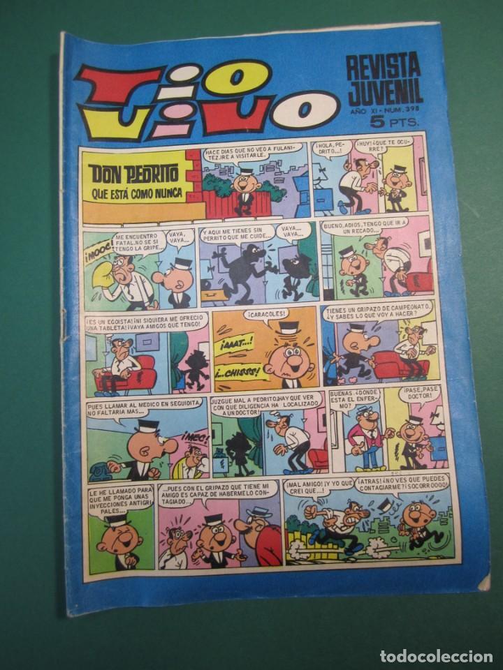 TIO VIVO (1961, BRUGUERA) 398 · 21-X-1968 · TIO VIVO (Tebeos y Comics - Bruguera - Tio Vivo)